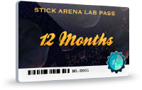 Stick Arena Lab Pass - 12 Months